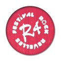 Badge R4 rouge