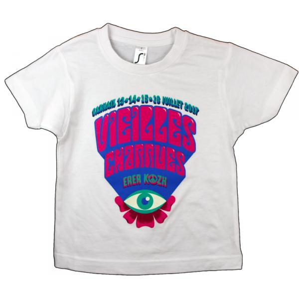Tshirt Enfant logo 2017